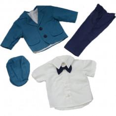 Costum elegant de botez baieti NN CEBN1, Bleumarin