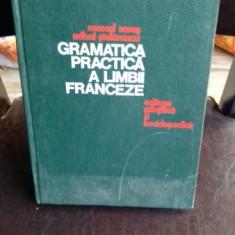 Gramatica practica a limbii franceze , Marcel Saras , 1976