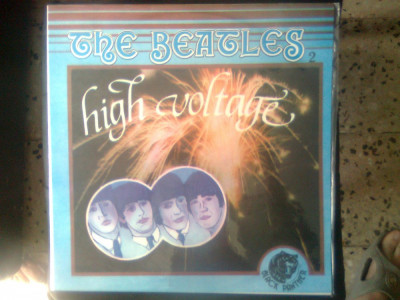 "Vinil (vinyl) - The Beatles 2 - High Voltage (Electrecord; lic. ""Black Panther"") foto"