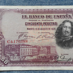 50 Pesetas 1928 Spania