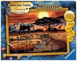 Cumpara ieftin Set Pictura pe numere - Safari African