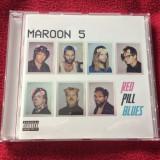 CD pop-rock album Maroon 5 - Red Pill Blues (2017) , NOU !