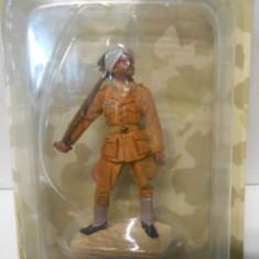 Figurina din plumb  - Colectia AL III REICH - FREIE INDIEN LEGION-1942 1:32