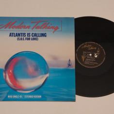 "Modern Talking - Atlantis is calling - disc vinil vinyl maxi 12"" NOU"