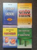 SET DICTIONAR DE SINONIME, ANTONIME, OMONIME, PARONIME (4 volume)