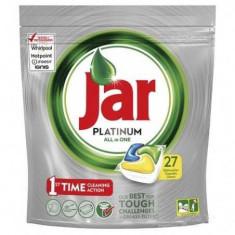 Detergent vase tablete pentru masina de spalat Jar Platinum, 27 bucati