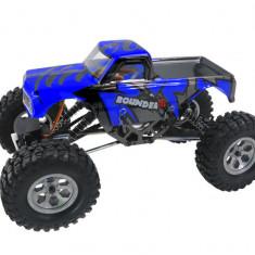 Masina Himoto, Mini Rock Crawler 1:16 4WD 2.4GHz 4CH RTR Albastru cu Telecomanda