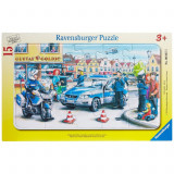 Puzzle Departamentul politiei, 15 piese Ravensburger