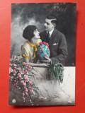 CARTE POSTALA PASTE × 1928 Bucuresti