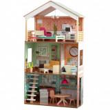 Casuta de joaca papusi Vintage Luxe Dottie Dollhouse KidKraft