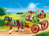 Cumpara ieftin Trasura cu cal, Playmobil