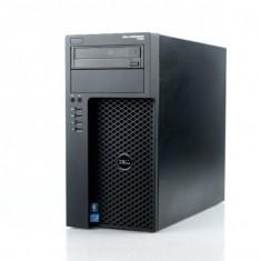 Workstation DELL Precision T1650 Tower, Intel Quad Core Xeon E3-1225 v2 3.2 GHz, 32 GB DDR3 ECC, 256 GB SSD, DVD-ROM