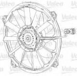 Ventilator, radiator PEUGEOT PARTNER caroserie (2008 - 2016) VALEO 696091