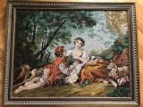 Tablou,goblen cusut manual,dupa pictura lui Francois Boucher