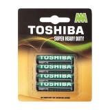 Baterii Toshiba 3R AAA Super Heavy Duty, set 4 bucati