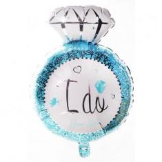 Balon I DO 70 cm albastru