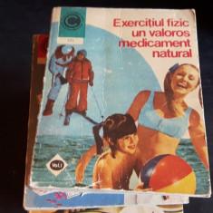 Exercitiul fizic un valoros medicament natural Vol. 1