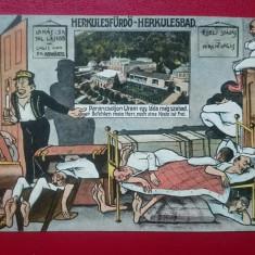 Baile Herculane caricatura, Circulata, Printata