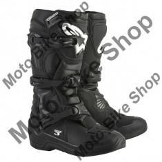 MBS Cizme motocross Alpinestars TECH3, negru, 11=45.5, Cod Produs: 20130181011AU