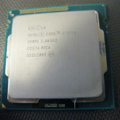 procesor Intel Core i7 3770  3.40 ghz  , SR0PK , socket  1155 , functional