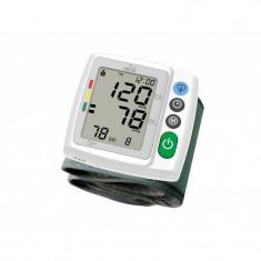 Tensiometru digital de incheietura Minut, sistem tip semafor, 2 x 120 valori masurate