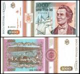 ROMANIA 1993 - 1000 lei UNC