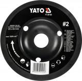 Disc circular depresat raspel pentru lemn 125x22.2 mm tip 2 YATO