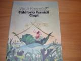 VITALI  KUZOVIK  -  CALATORIA  FURNICII  CIUPI ( 1988, rara, ilustrata color ) *