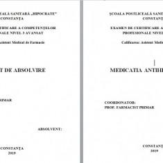 LUCRARE DE LICENTA AMF – MEDICATIA  ANTIHIPERTENSIVA