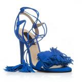 Sandale piele naturala FX-10 Albastru - sau Orice Culoare
