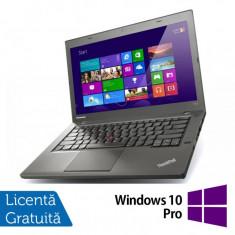 Laptop Refurbished LENOVO ThinkPad T440, Intel Core i5-4300U 1.90GHz, 4GB DDR3, 500GB SATA, 1600x900 + Windows 10 Pro