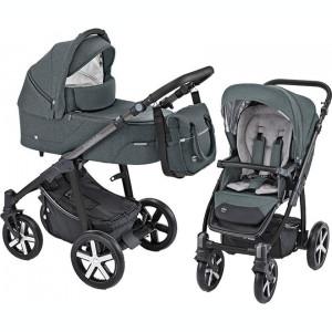 Carucior Multifunctional Baby Design Husky 17 Graphite 2019 (winter pack)
