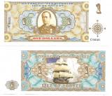 !!! X . RARR : FANTASY NOTE =  ISLE OF BOUVET -  1 DOLAR 2012 - UNC / SERIA C