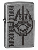 Cumpara ieftin Brichetă Zippo 29280 Harley Davidson Skull