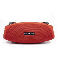 Aproape nou: Boxa portabila PNI FunBox T13R, rosu, Bluetooth, 2x5W, slot micro SD,
