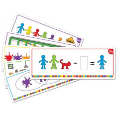 All About Me Family Counter Activity Cards