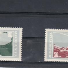 ROMANIA 1964 LP 604    PORTILE DE FIER   SERIE   MNH