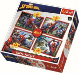 Cumpara ieftin Puzzle 4 in 1 - Spider-Man, 207 piese