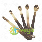 Set de 5 Lingurite Dozatoare din Inox