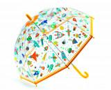 Umbrela colorata pentru copii, Vehicles, Djeco
