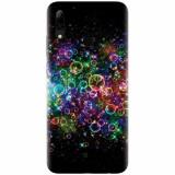 Husa silicon pentru Huawei P Smart 2019, Rainbow Colored Soap Bubbles