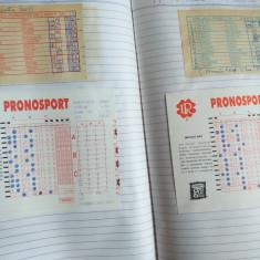 Bilete Pronosport 2001, colectie