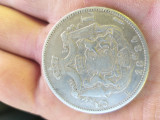 Moneda Carol I 5 lei de argint 1884 si 1883