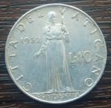 (M2512) MONEDA VATICAN - 10 LIRE 1952