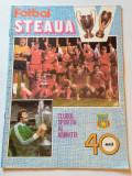 "Revista - ""Fotbal STEAUA"" Bucuresti 1987"