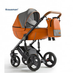 Krausman - Carucior 3 in 1 Nexxo Orange
