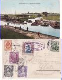Polonia, Germania,Austria,Rusia-Myslowitz-Granita a 3 imperii, Circulata, Printata