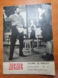 Program teatrul de copedie 1970-1971-nicnic-cu amza pelea,iurie darie,sanda toma