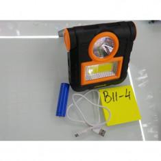 B11-04 LANTERNA 1+24 LED, 1 ACUMULATOR, USB-CUTIE