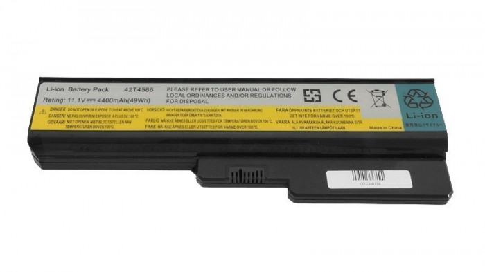 Baterie Laptop CM POWER Lenovo IdeaPad G450 G530 G550 4400 mAh 49 Wh
